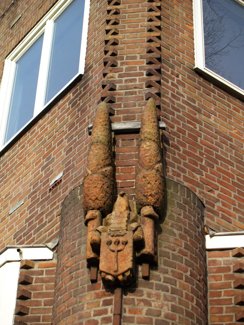 wapen oostzaan - foto: loek van vlerken 03.02.2011