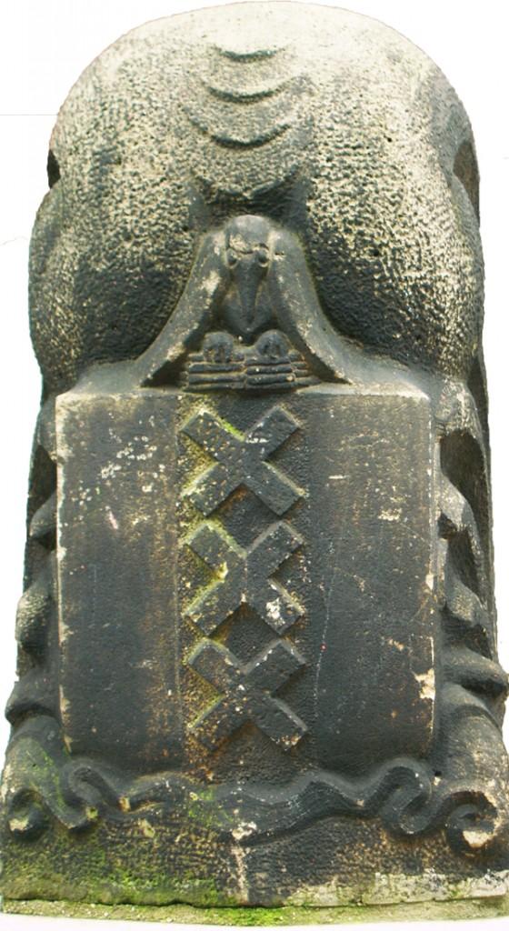 wapen van amsterdam - foto: loek van vlerken