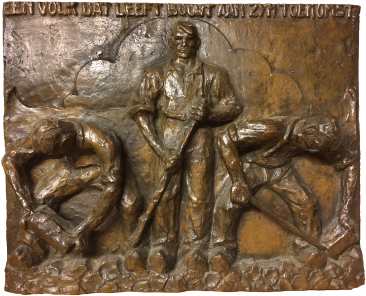 studie - relief monument afsluitdijk - foto: loek van vlerken 10.07.2017