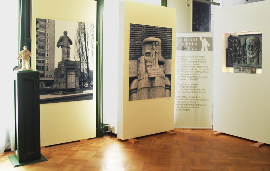 tentoonstelling hildo krop stadsbeeldhouwer van amsterdam - foto: loek van vlerken 06.06.2012
