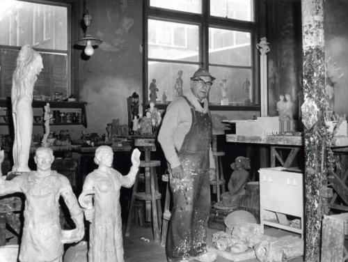 atelier plantage muidergracht - fotograaf onbekend
