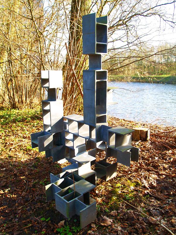 andre volten-constructie in din2.0, 1966 - foto: loek van vlerken 16.02.2011