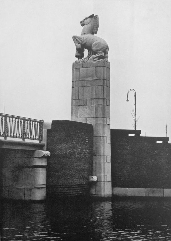 muzenpleinbrug - foto: wendingen jrg.1931 nrs.5-6 - collectie loek van vlerken