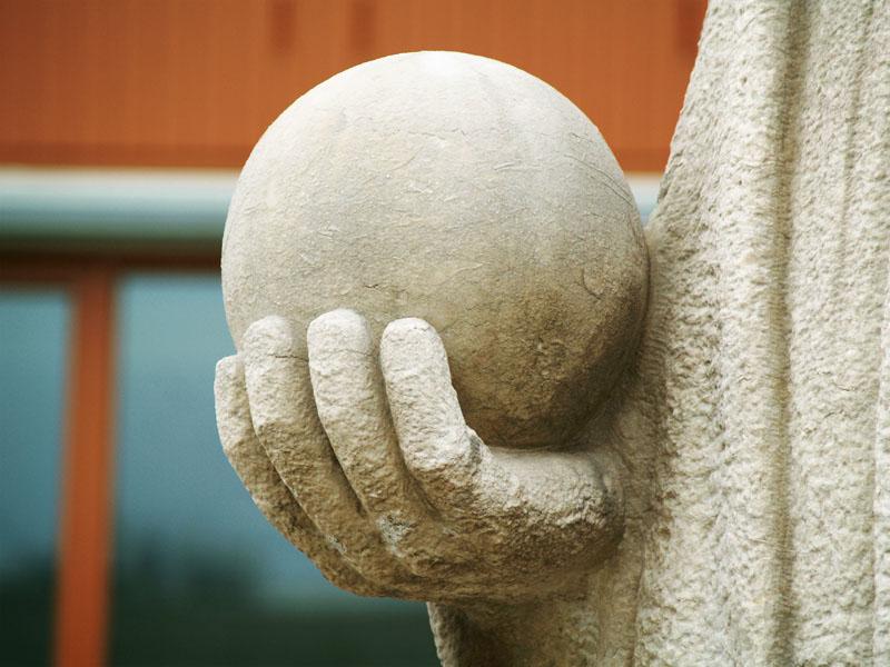 spinoza (detail) - foto: loek van vlerken 27.12.2011
