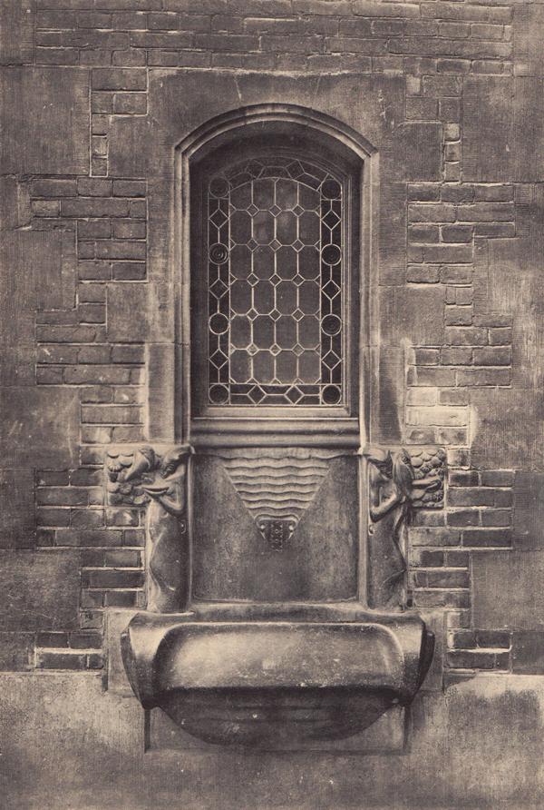 drinkfonteintje munttoren - foto: hildo krop-jos de gruyter 1938 - collectie loek van vlerken