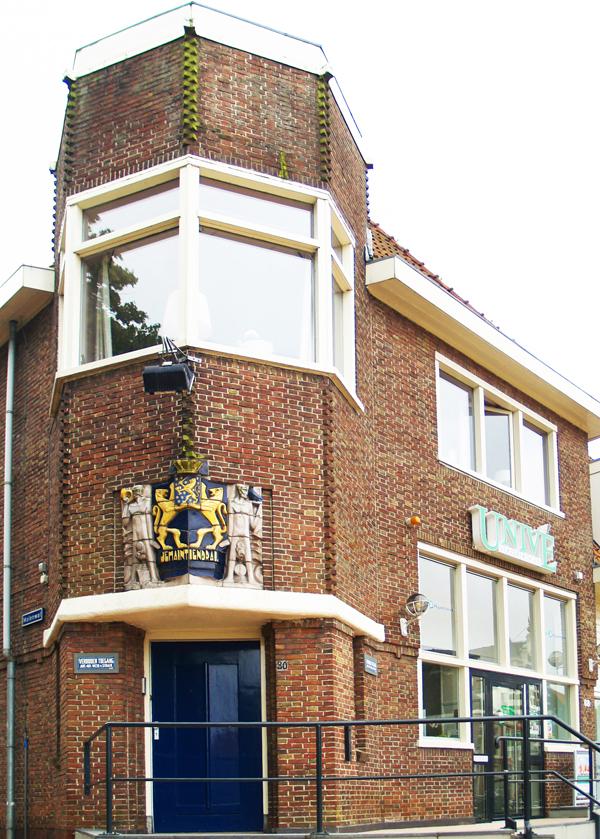 gevel postkantoor steenwijk - foto: loek van vlerken 27.06.2012