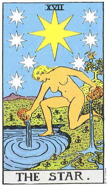tarot kaart-the star