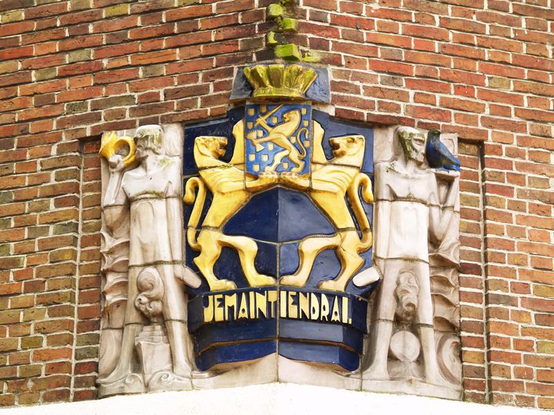 wapen van nederland - foto: loek van vlerken 27.06.2012