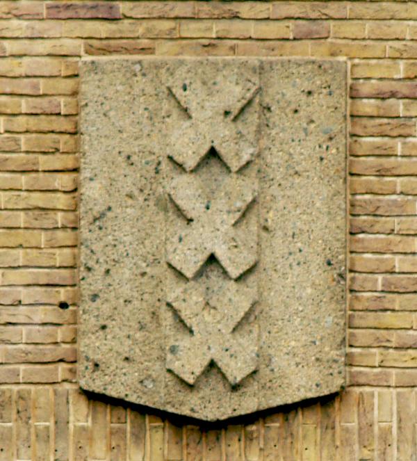 wapen van amsterdam - foto: loek van vlerken 29.02.2012