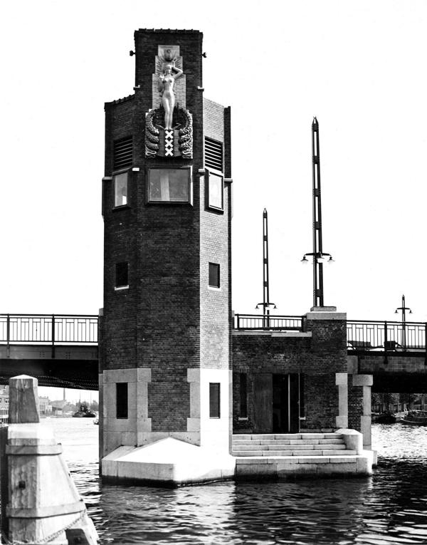 berlagebrug 1931 - foto: bouwkundig weekblad architectura nr. 22, 28.05.1932