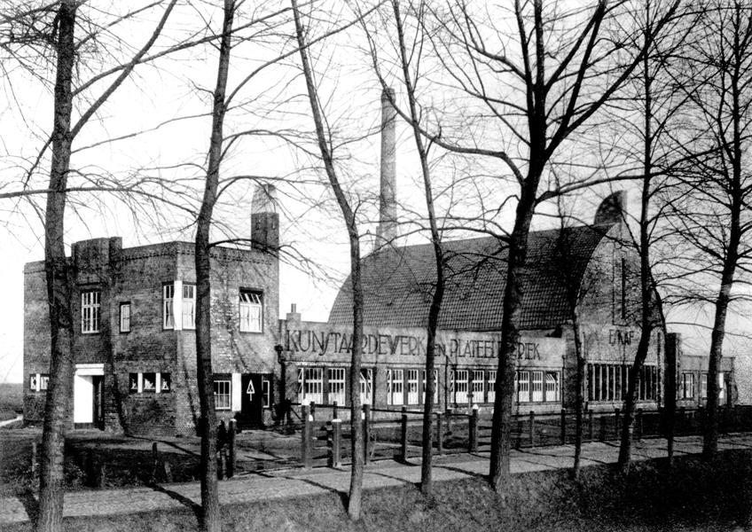ESKAF fabriek ca.1920 - foto: hildo krop museum