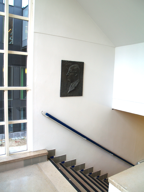 trappenhuis laboratorium organische scheikunde, uva - foto: loek van vlerken 17.12.2015