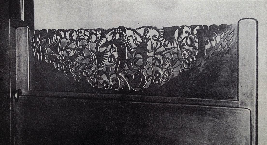 faun met dieren en bloemen -foto: wendingen 1925 nr.2 (collecie loek van vlerken)
