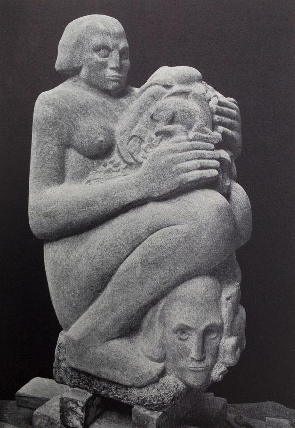 moeder aarde - foto: wendingen jrg. 1927 nr.1 - collectie loek van vlerken