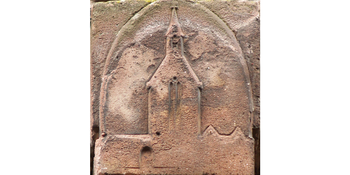 gevelsteen 'kapel St. Agnieta' - foto: loek van vlerken 13.02.2012