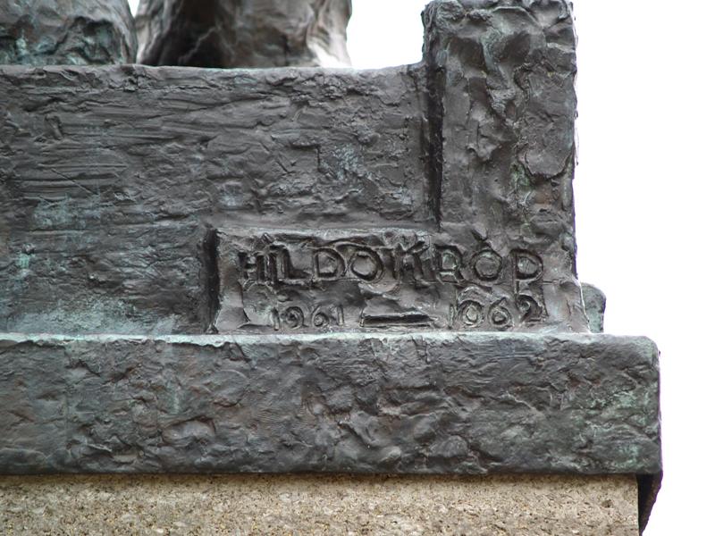 pieter jelles troelstra (detail achterzijde) - foto: loek van vlerken 15.01.2014