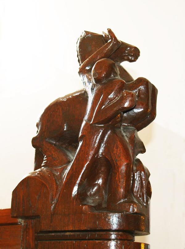man die paard temt - foto: loek van vlerken 20.02.2012
