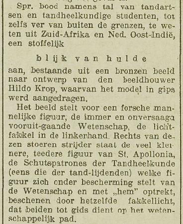 Utrechts Nieuwsblad 11 november 1927