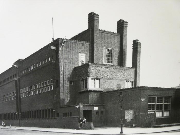 Van Rijnschool - historische foto: 1924 (fotograaf onbekend)