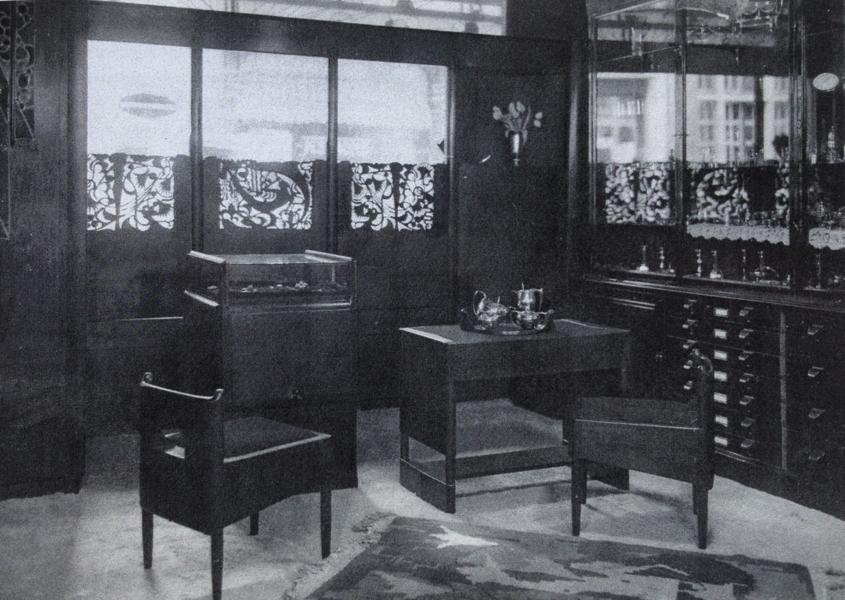 interieur juwelier steltman, den haag - foto: lagerweij-polak