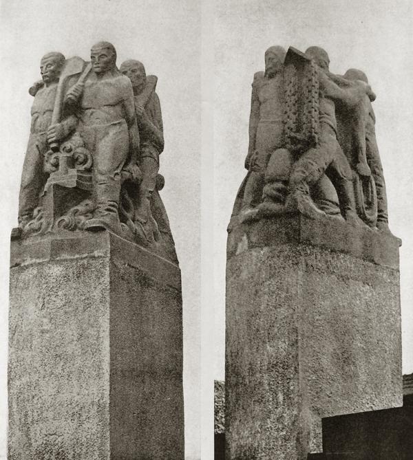 paalbekroningen - foto: wendingen 1925-2 - collectie loek van vlerken