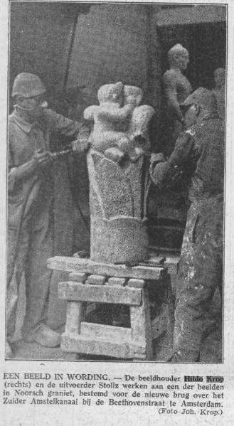 nieuw leven - algemeen handelsblad - 27.08.1940 - foto: johan krop