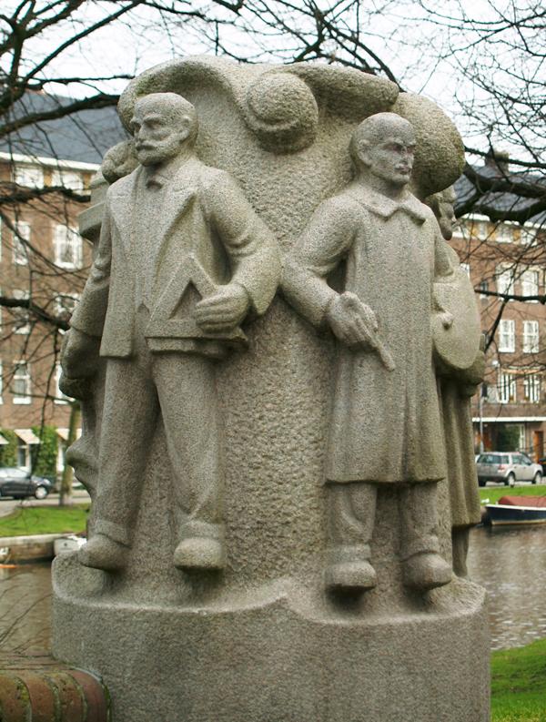 berlage en roland holst - foto: loek van vlerken 09.03.2012