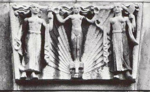 de vrije gedachten - foto: g.l.w. oppenheim, beeldbank amsterdam - 28 november 1955