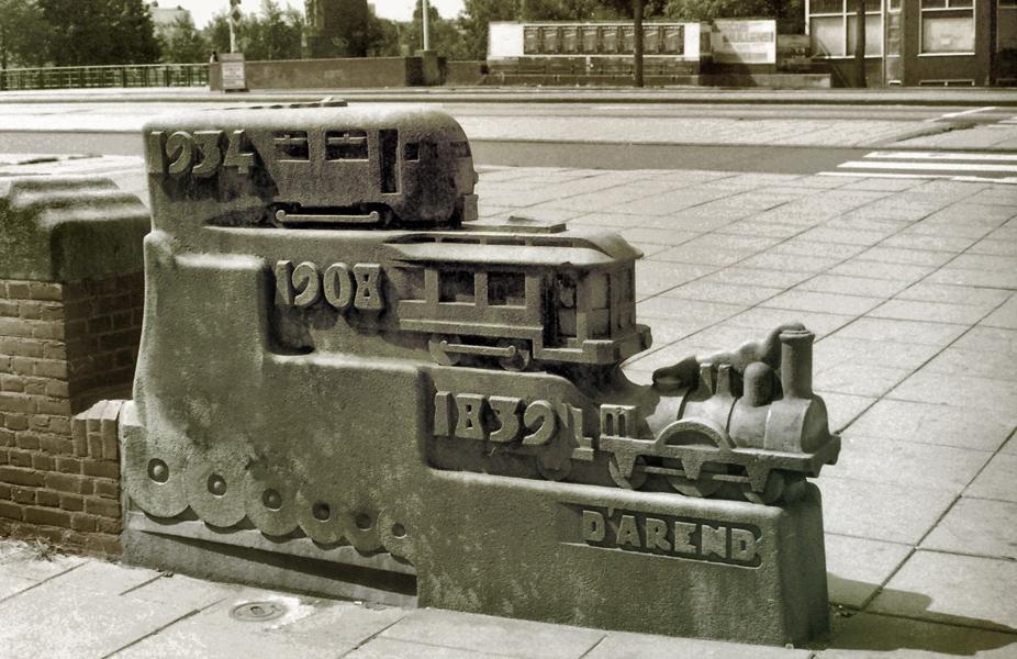 piet kramer: de ontwikkeling van de locomotief - foto: loek van vlerken 1986