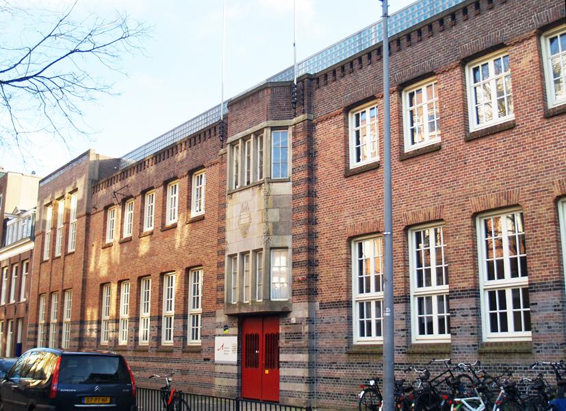 schoolgebouw 2e boerhaavestraat - foto: loek van vlerken 01.03.2011