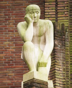 paul koning 'de denker'- foto: loek van vlerken 20.01.2011