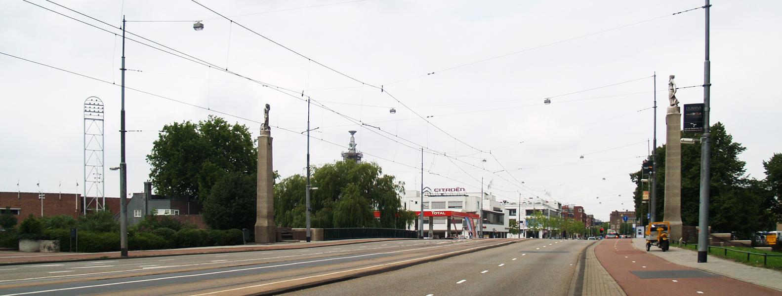 stadionbrug - foto: loek van vlerken 27.07.2011
