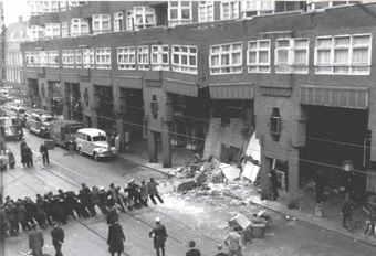 vijzelflat - foto: beeldbank amsterdam - 23.03.1955