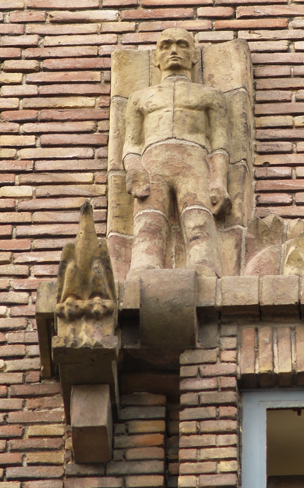 man en adelaar - foto: loek van vlerken 01.04.2011