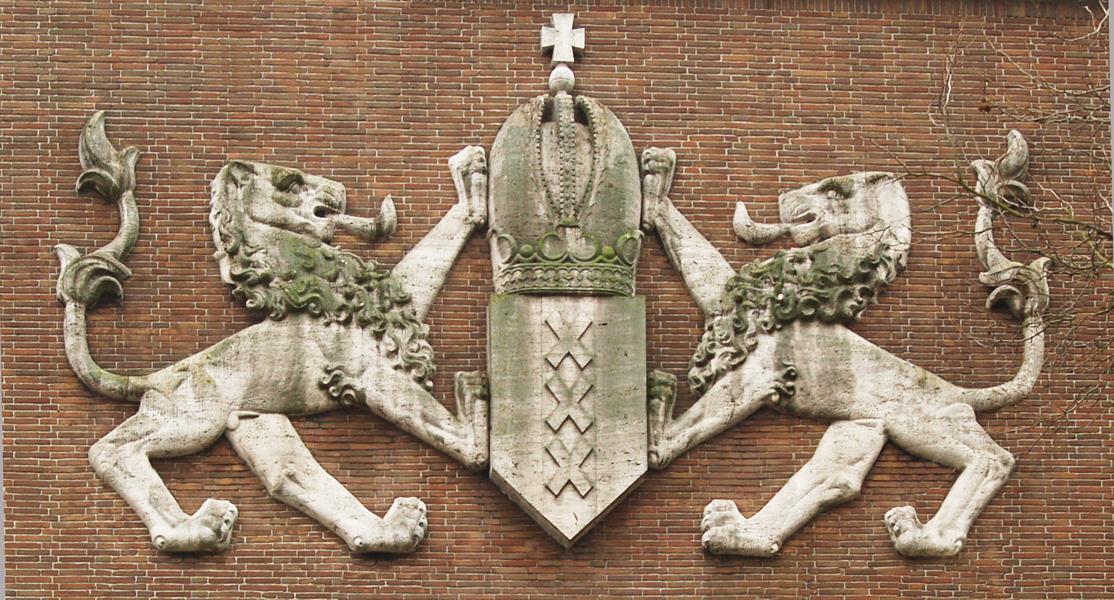 wapen van amsterdam - foto: loek van vlerken 25.02.2011
