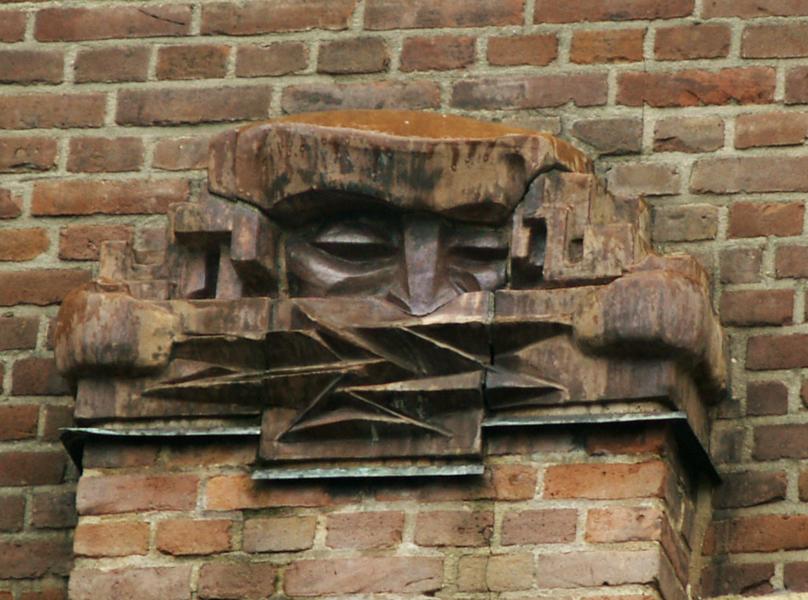 pilasterbekroning - foto: loek van vlerken 14.02.2012