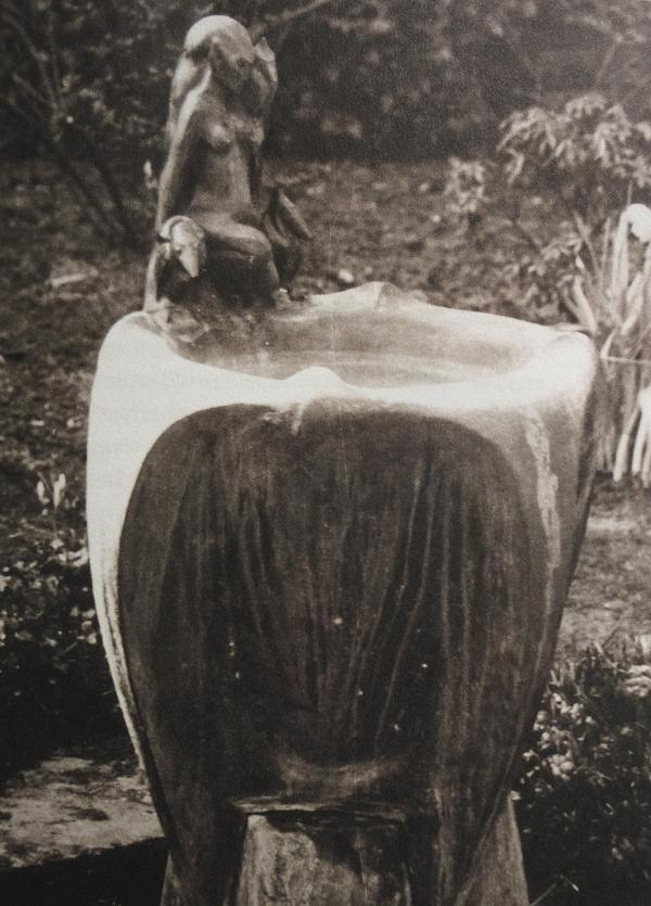 fontein met faun - foto: hildo krop museum
