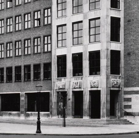 pieter de hoochstraat 55 - foto: g.l.w oppenheim, beeldbank amsterdam - 31 juli 1955