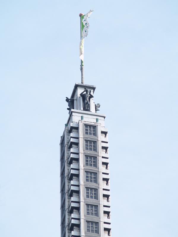 torenspits telegraafgebouw - foto: loek van vlerken 17.02.2011