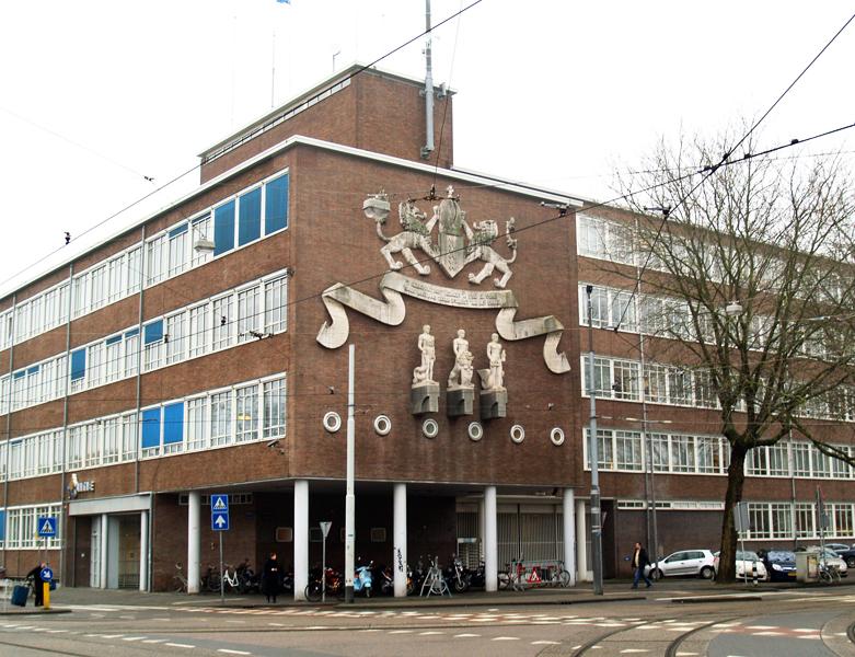 gevel Marnixstraat hoek Elandsgracht - foto: loek van vlerken 25.02.2011