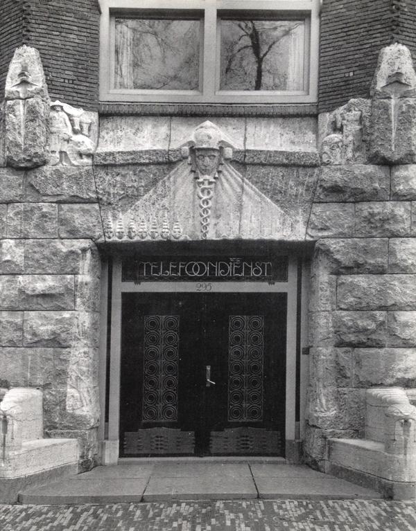oorspronkelijke ingang herengracht - foto lagerweij-polak (fotograaf onbekend)