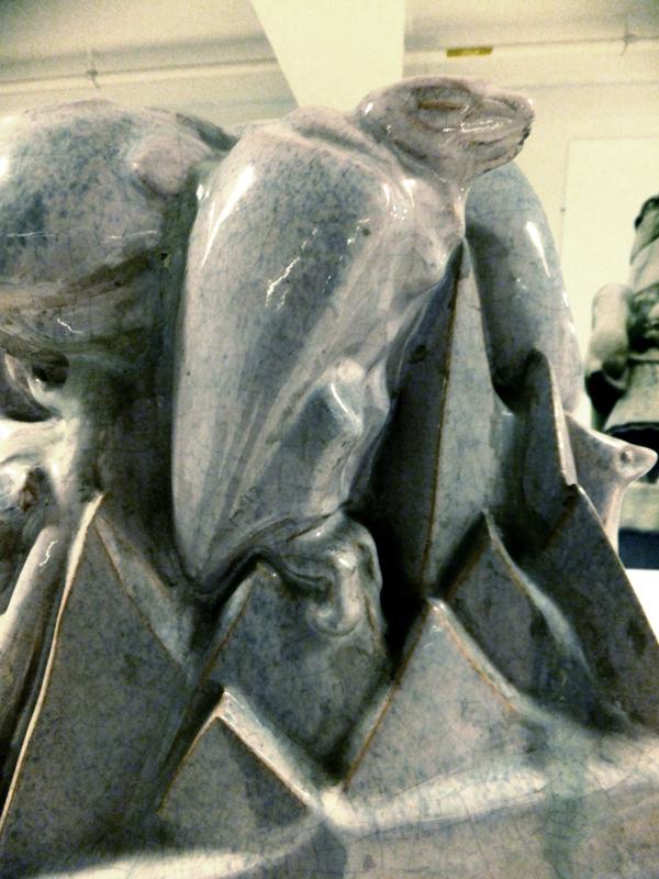 gier (collectie hildo krop museum) - foto: loek van vlerken 04.06.2013