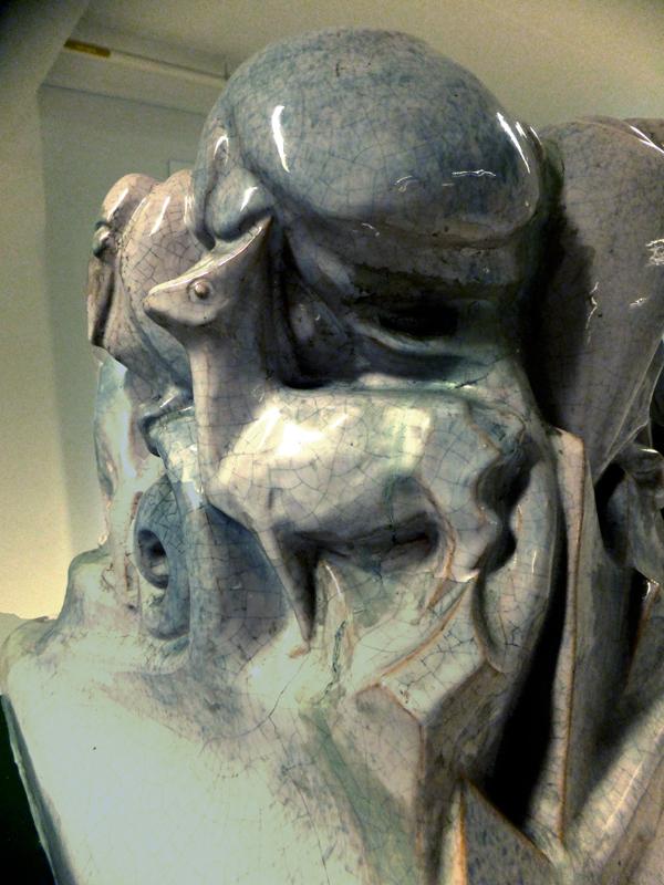 staand hertje (collectie hildo krop museum) - foto: loek van vlerken 04.06.2013