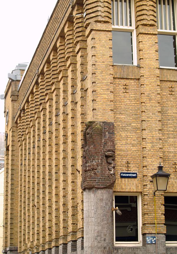 gevel nobelstraat hoek keizerstraat - foto: loek van vlerken 14.04.2011