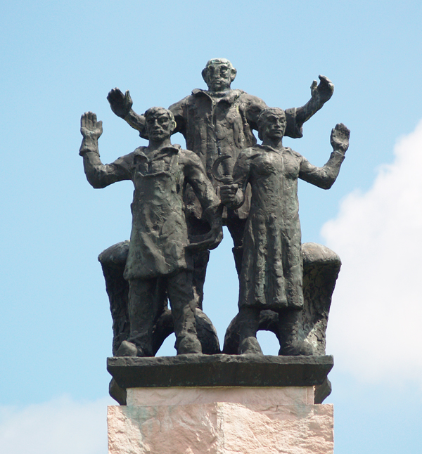 monument 'de ontmoeting tussen zee en land' - foto: loek van vlerken 21.06.2016