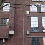 deel van gevel Sint Pietershalsteeg