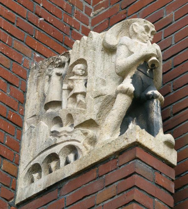 rattenvanger van hamelen - foto: loek van vlerken 10.01.2011