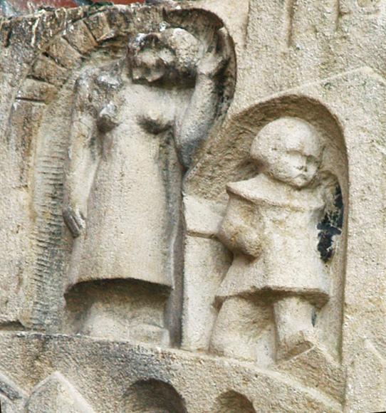 rattenvanger van hamelen (detail: moeder en kind) - foto: loek van vlerken 10.01.2011