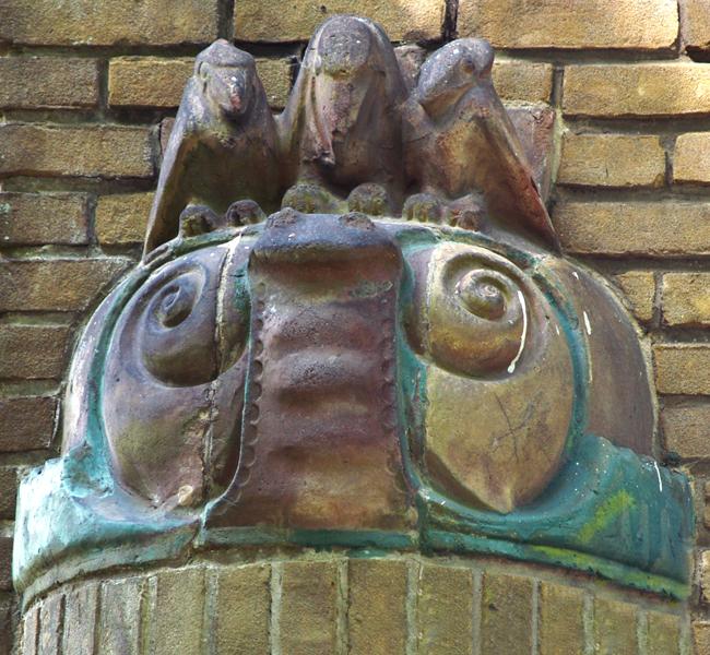 drie vogels op een slak - foto: loek van vlerken 18.05.2014
