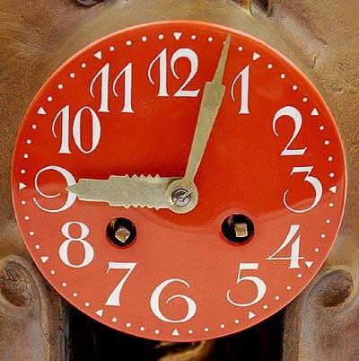 klok (wijzerplaat) - foto: botterweg auctions amsterdam - 2014
